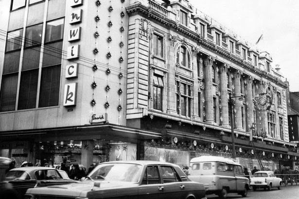 Fenwicks, Fenwicks Newcastle, Fenwicks Northumberland Street, Newcastle upon Tyne, Newcastle history, Geordie history, Fenwicks in the 1960s, Fenwicks department store,  Newcastle shopping, Newcastle high street