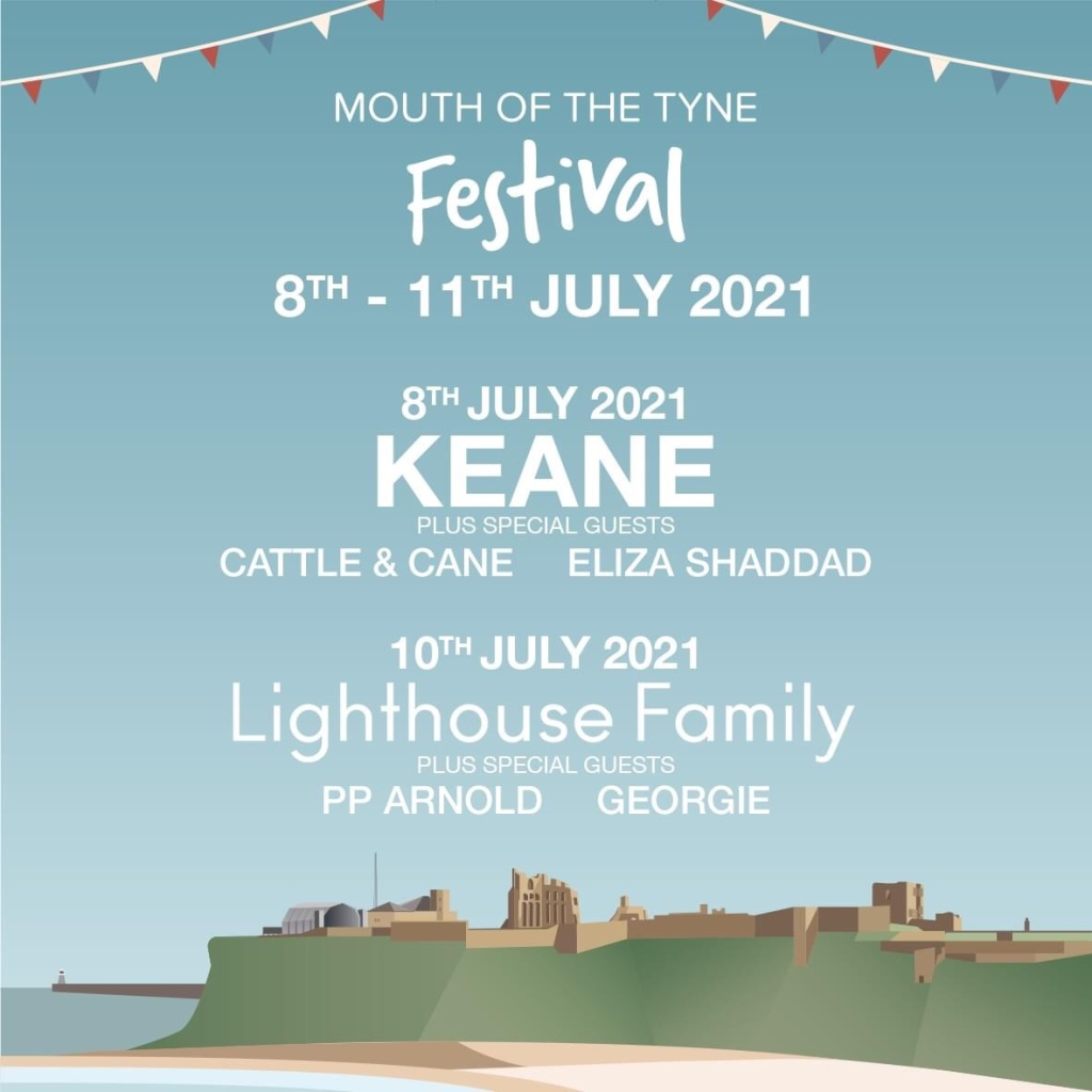 Mouth of Tyne, mouth of the Tyne festival, Tynemouth priory festival, Tynemouth music festival, mouth of the Tyne festival rescheduled, mouth of the Tyne festival cancelled, mouth of the Tyne festival postponed, Sam Fender Mouth of the Tyne Festival, Mouth of the Tyne Festival new dates, music festival new dates Tynemouth, music festival Newcastle upon Tyne, moth of Tyne festival date changes, mouth of the Tyne festival 2021, mouth of the Tyne festival lineup