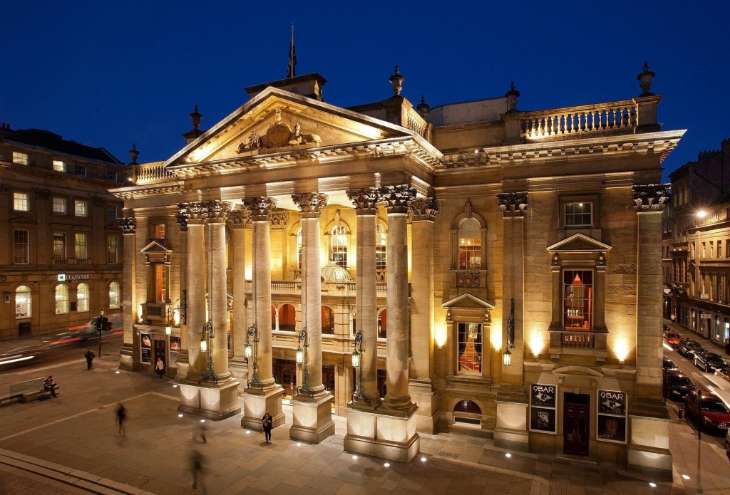 Newcastle Theatre Royal, Theatre Royal, Grey Street Newcastle, Newcastle theatre at risk, theatre redundancies, Covid 19 theatre closure, lockdown theatre closure, redundancies in Newcastle, coronavirus theatre, lockdown 2020 theatre, Newcastle upon Tyne, Newcastle theatre closure, Newcastle theatre in lockdown
